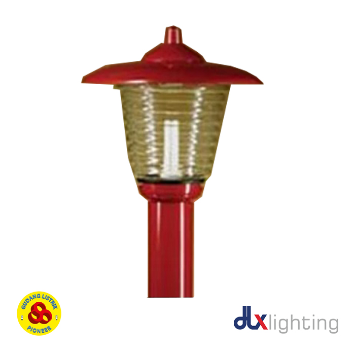 Jual Kap Lampu Taman Te 25 Red Dlx Gudang Listrik