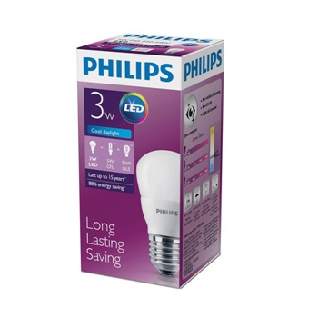 LED BULB PHILIPS 3W 6500K E27